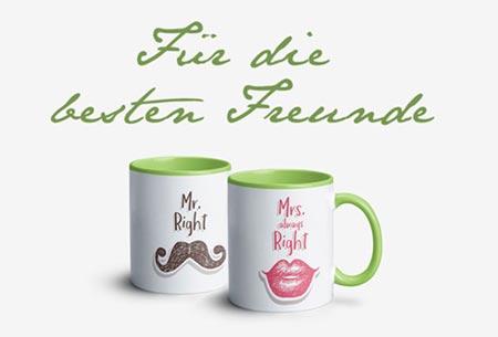 Tassen für Freunde